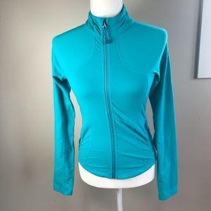 Lululemon Aqua Blue Forme Jacket Size 4